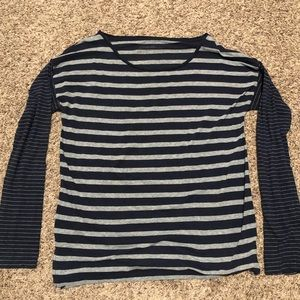 Eddie Bauer Stretch Knit Stripe Tee